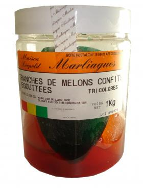 FRUITS CONFITS ASSORTIS ENTIER 1kg Marliagues
