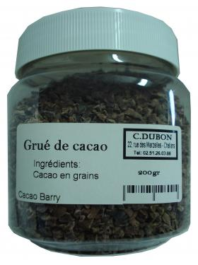 GRUE DE CACAO 200gr Barry