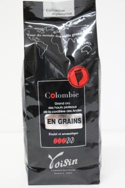 CAFE COLOMBIE GRAINS 250gr Café Voisin