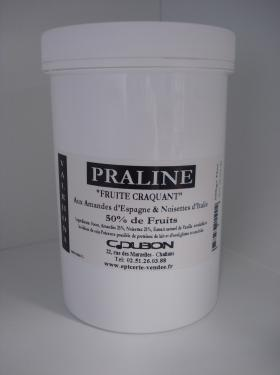 PRALINE CRAQUANT 50% FRUITS 500G