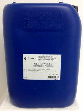 AROME VANILLE S/ALCOOL 10litres