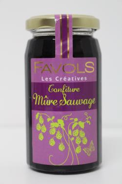CONFITURE MURE SAUVAGE 270g Favols