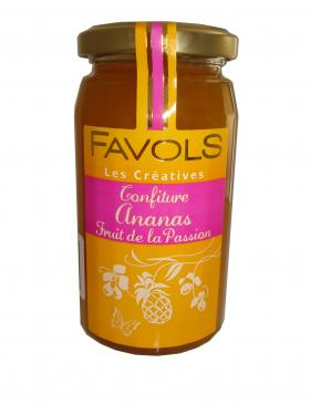 CONFITURE ANANAS FRUIT DE LA PASSION 250g Favols
